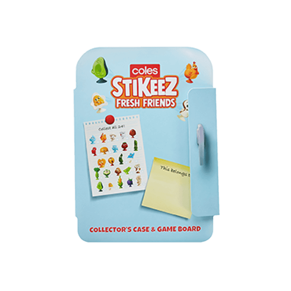 Stikeez Collector's Case & Game Board