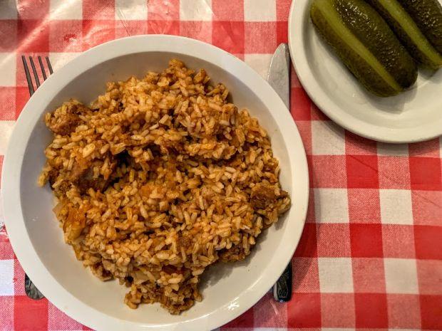 bacskai-rizses-hus-pork-pilaf-hungarian-dish
