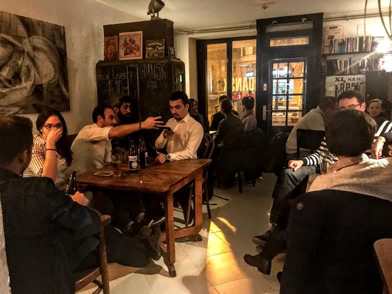 Gdansk Bookstore Café - Offbeat Budapest