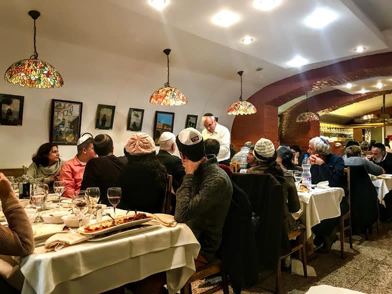 Carmel Restaurant Offbeat Budapest