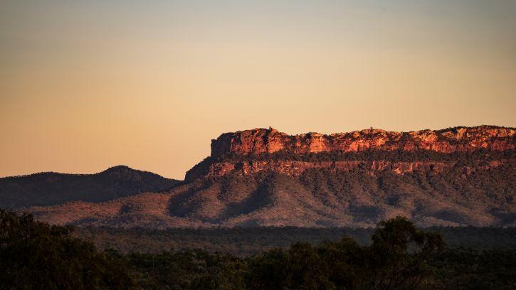 Mount Mulligan escarpment