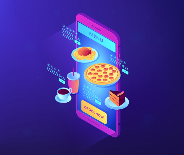 Icon depicting Quick Service Restaurant Apps