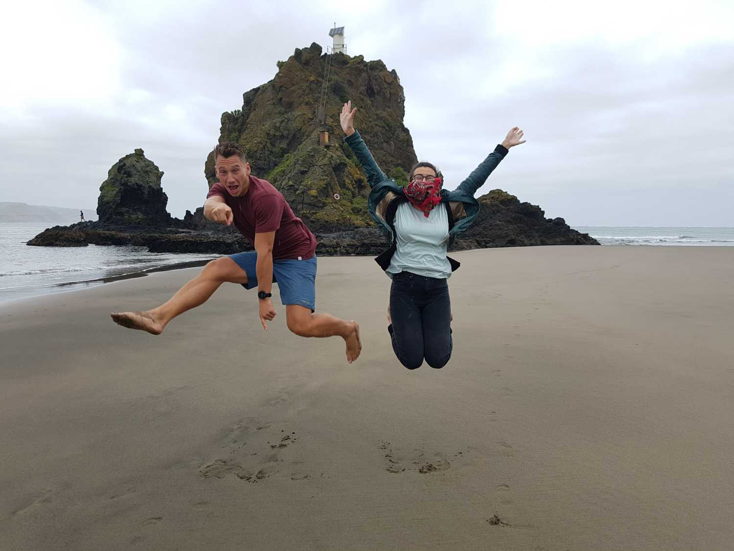 Tour to Auckland's loney lighthouse on Whatipu Black Sand Beach