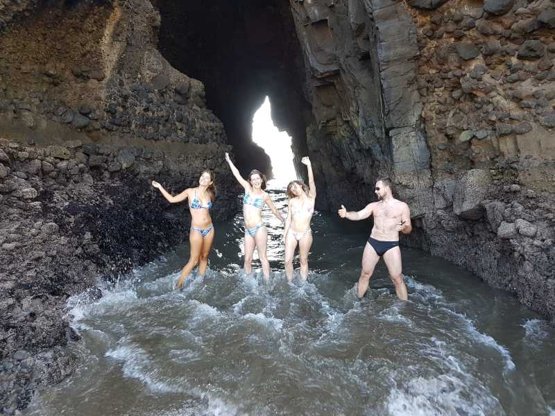 Blacksand adventure tour explores Piha's caves and lagoons