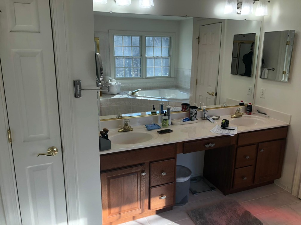 Master Bathroom Remodel - Annapolis, MD | Great Eastern ...
