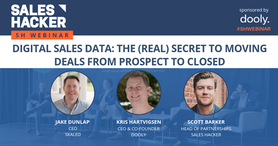 Digital Sales Data: The (Real) Secret to Moving Deals from Prospect to Closed