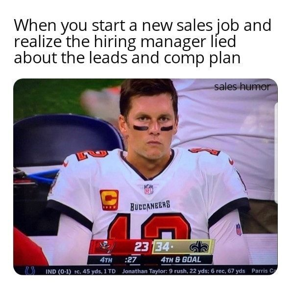 Dooly Sales Meme 13 - When The Lead and Comp Plan Was a Lie
