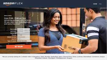 Amazon Flex: Earn upto ₹16800 Every Month By Delivering Parcel in Your Free Time With Amazon Flex | All You Need to Know