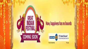 Amazon Great Indian Festival Sale starts on 17th October 2020:  Details of Offers, Deals and Discounts + Extra 10% Off on HDFC Cards