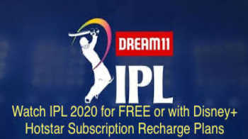 How to watch IPL 2020 for FREE or with Special FREE Disney+ Hotstar Subscription Recharge Plans?