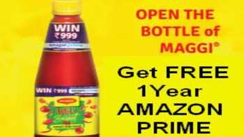 FREE ONE YEAR AMAZON PRIME Membership with Nestle Maggi Tomato Sauce 1kg Bottle: How to Redeem Code