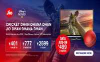 Jio Dhan Dhana Dhan Cricket Plans – FREE Disney+ Hotstar VIP and 4G Data - IPL special plan