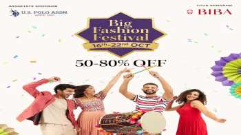 Myntra Big Fashion Festival Sale Offers 16th-22nd Oct 2020: Upto 80% Off + Extra 10% Off with ICICI Bank Cards