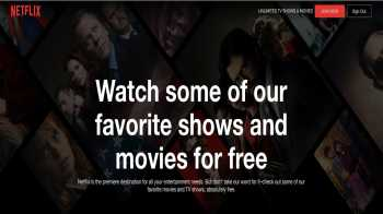Watch Netflix Series & Movies for free : Netflix Offering some of their shows for free, including stranger things