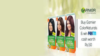 Get 50 Paytm Cash free with Garnier Hair Natural Worth Rs.170. How to redeem your code