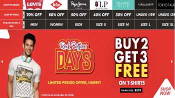 Brand Factory Offers June 2020: Upto 70% off on top brands + Buy 2 get 3 offers and 200 off for new users