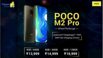 Poco M2 Pro Next Sale on 28th August @ 12 PM from Flipkart at a Price Rs. 13999, Specifications & Buy Online In India