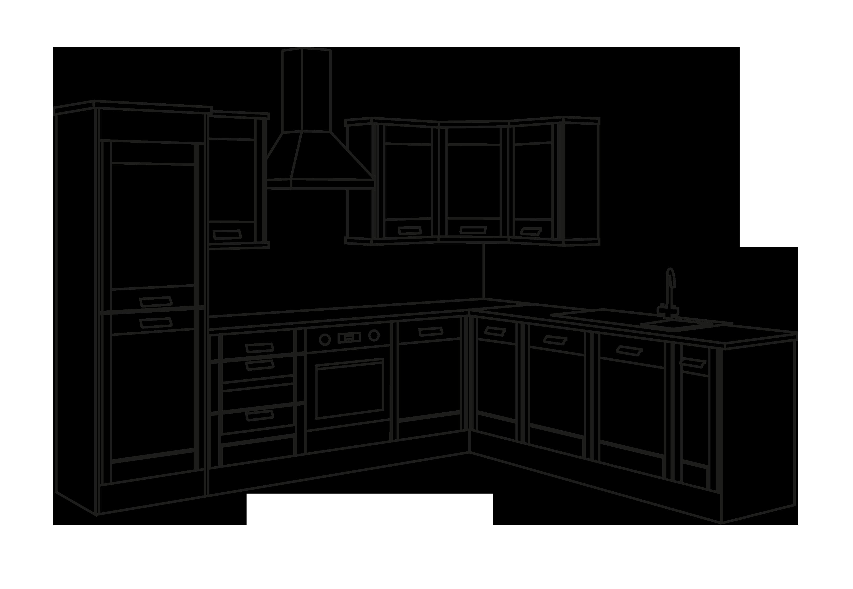 Картинки срисовка кухни