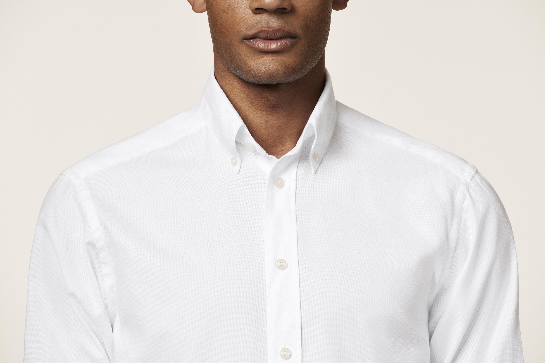 Weißes T Shirt aus Filo di Scozia   Eton Hemden und  Accessoires