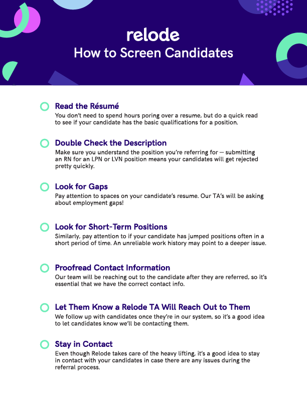 How to Screen Candidates Checklist-01
