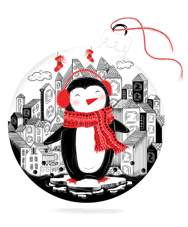 Go to detail page Christmas penguin