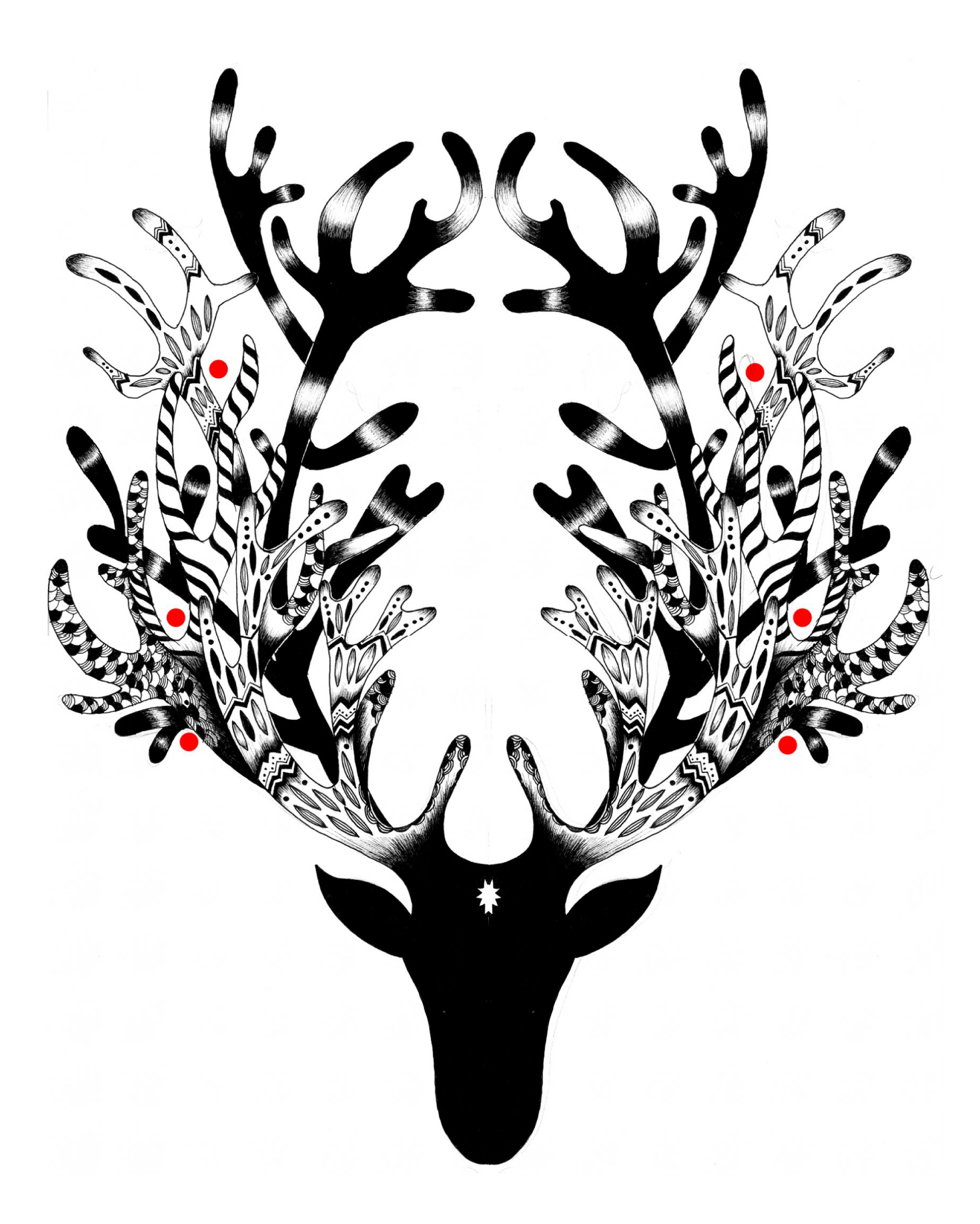 Go to detail page Inky deer