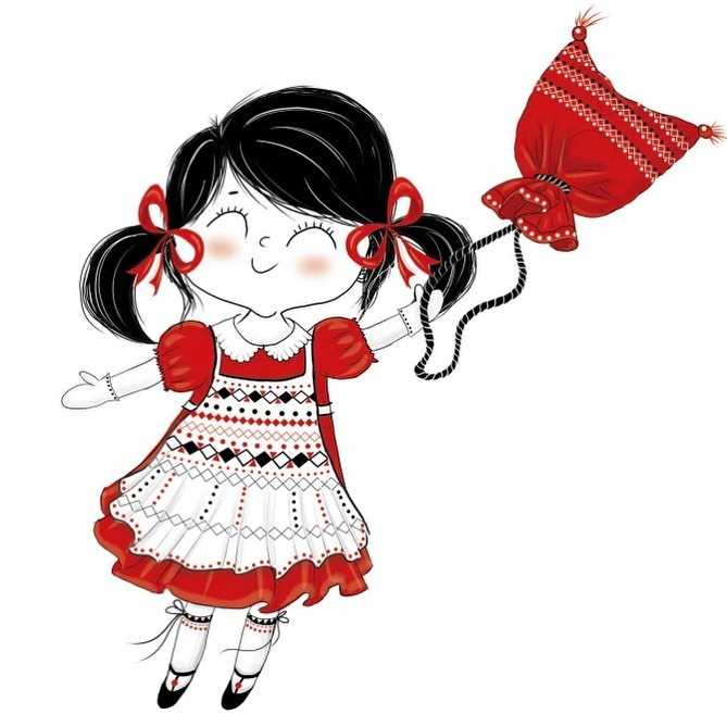 "Instagram post: Happy weekend everyone! ❄️ Here's another drawing I made a few years ago, based on a Romanian fairytale. It's about a little girl who discovered that her magic little bag can fly and they can travel the world together. ⭐️ I don't have a magic bag, but I have my imagination. My mind is now wandering around Russia and I am excited to tell you that I am slowly starting researching and sketching for a new illustration that many of you requested! ⭐️ It's ""Midnight in Moscow""! ⭐️ I think it's a fabulous city and I am looking forward to starting it 💌 This weekend will be all about reading the history of Russia and laying the foundation of the drawing ♥️ Happy weekend y'all! ❄️❄️ • • • #madalinadraws #madalinatantareanu #skiing #anowboarding #austria #slopes #skiillustration #skidrawing #cute #cuteillustration #childrendrawing @kidsbooks #kidsbookpublishers #ink #watercolor #art #artist #artwork #snowing #winterwonderland #etsy #etsyshop #artistoninstagram #artistonetsy #etsysellersofinstagram #sketch #ipadpro #procreate"