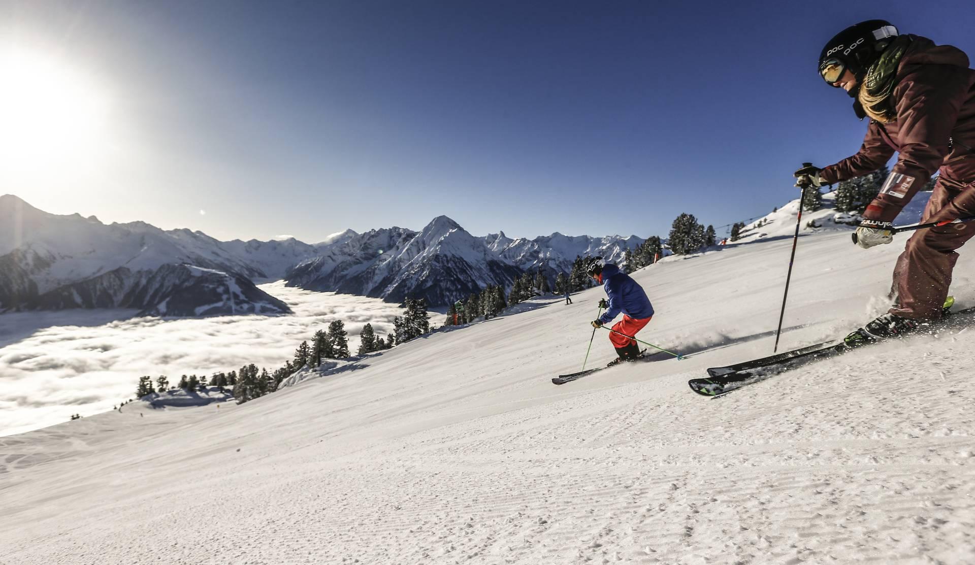 Skiing in Mayrhofen Hippach