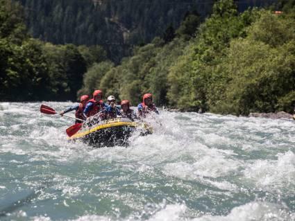 Rafting Zillertal Valley