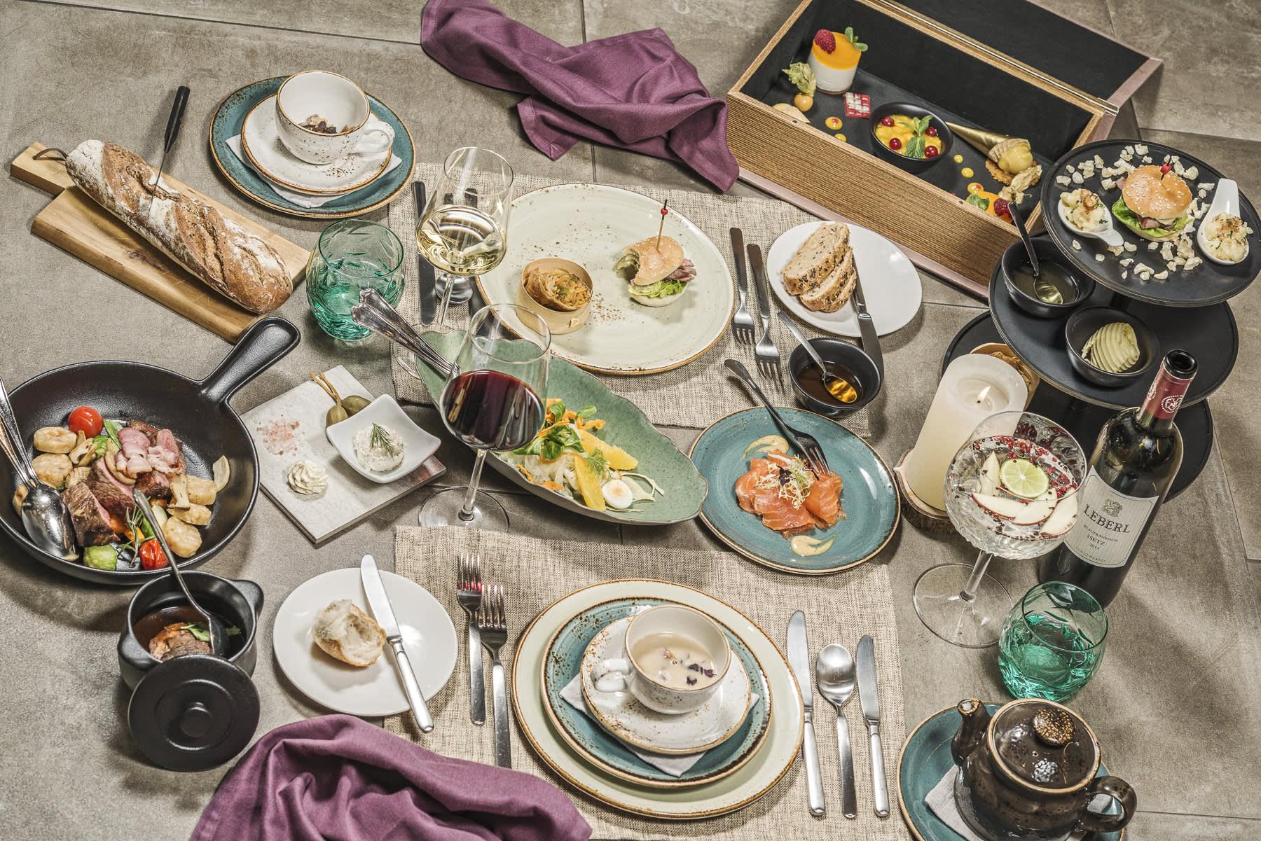 Sharing Dinner im Hotel Sieghard