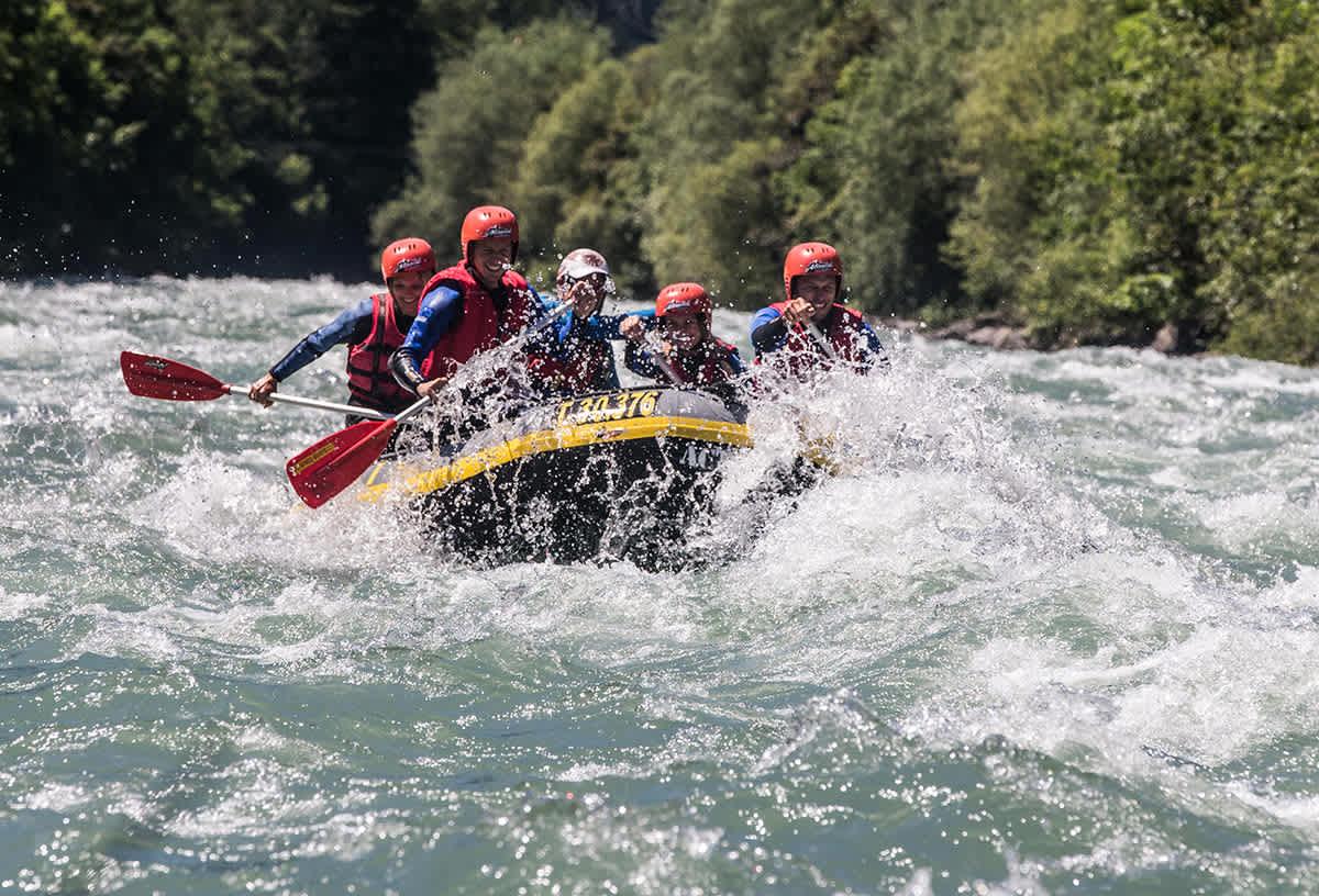 Rafting in Zillertal Valley