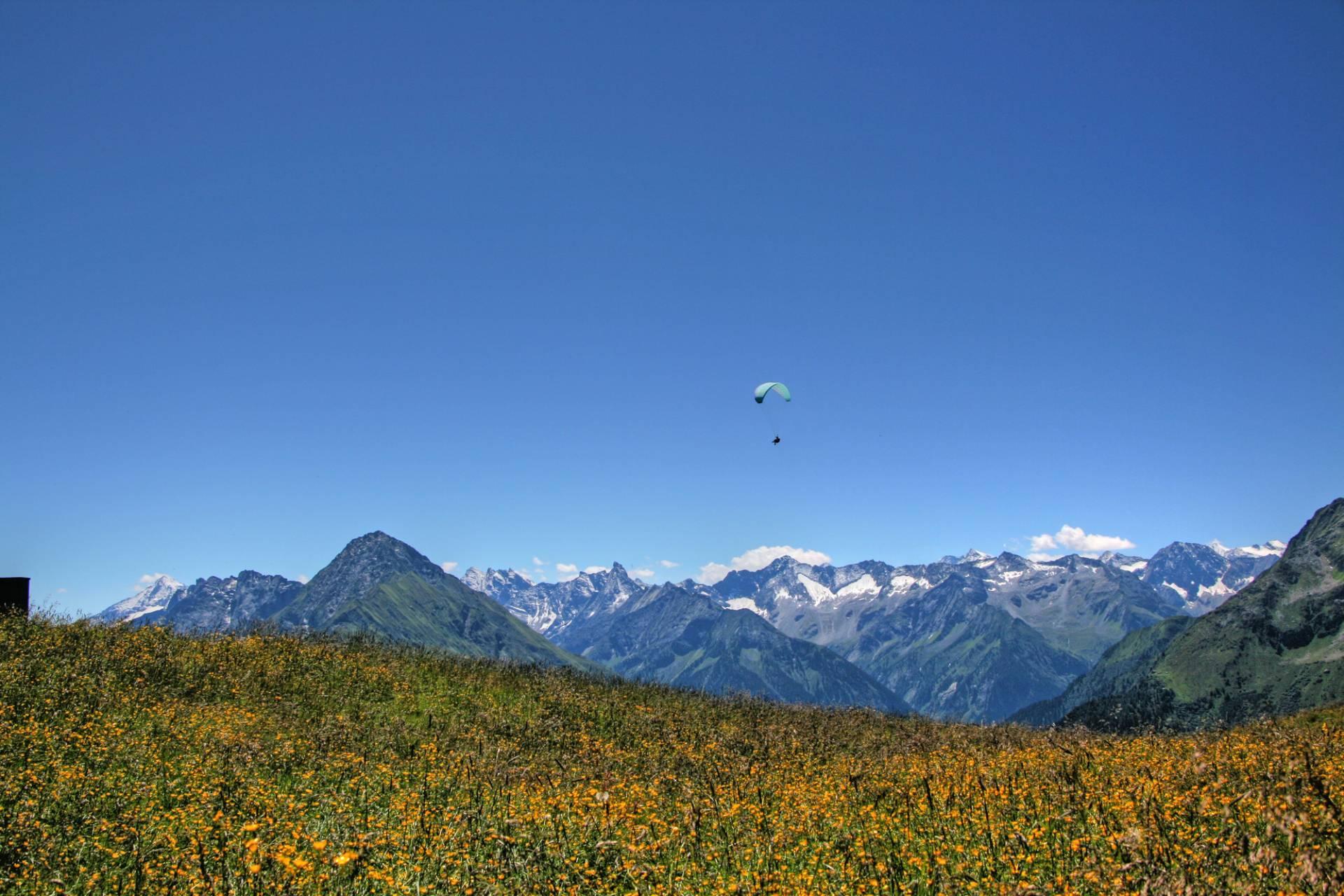 Paragliding in Mayrhofen-hippach