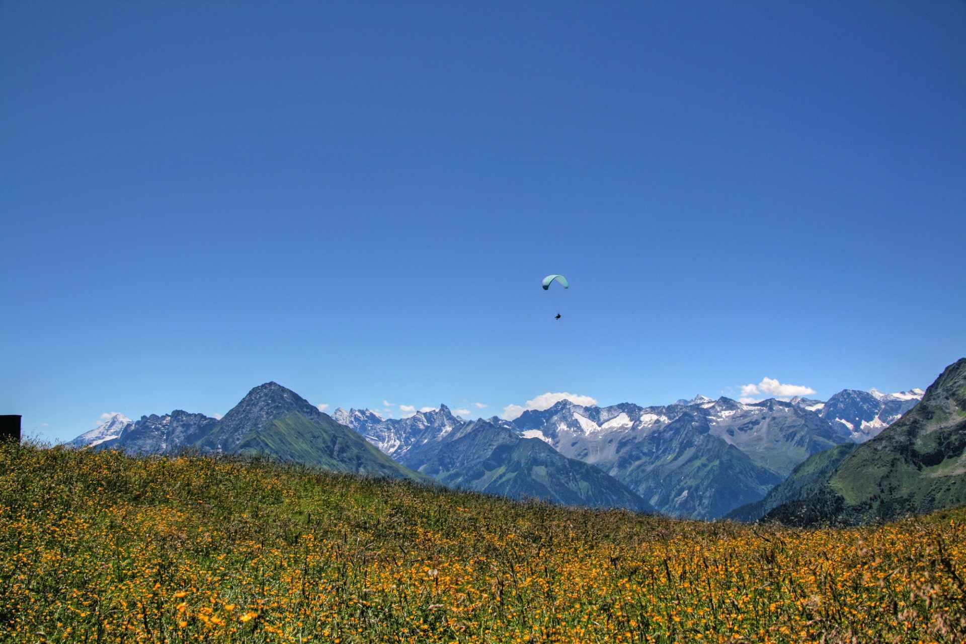 Paragleiten in Mayrhofen-Hippach