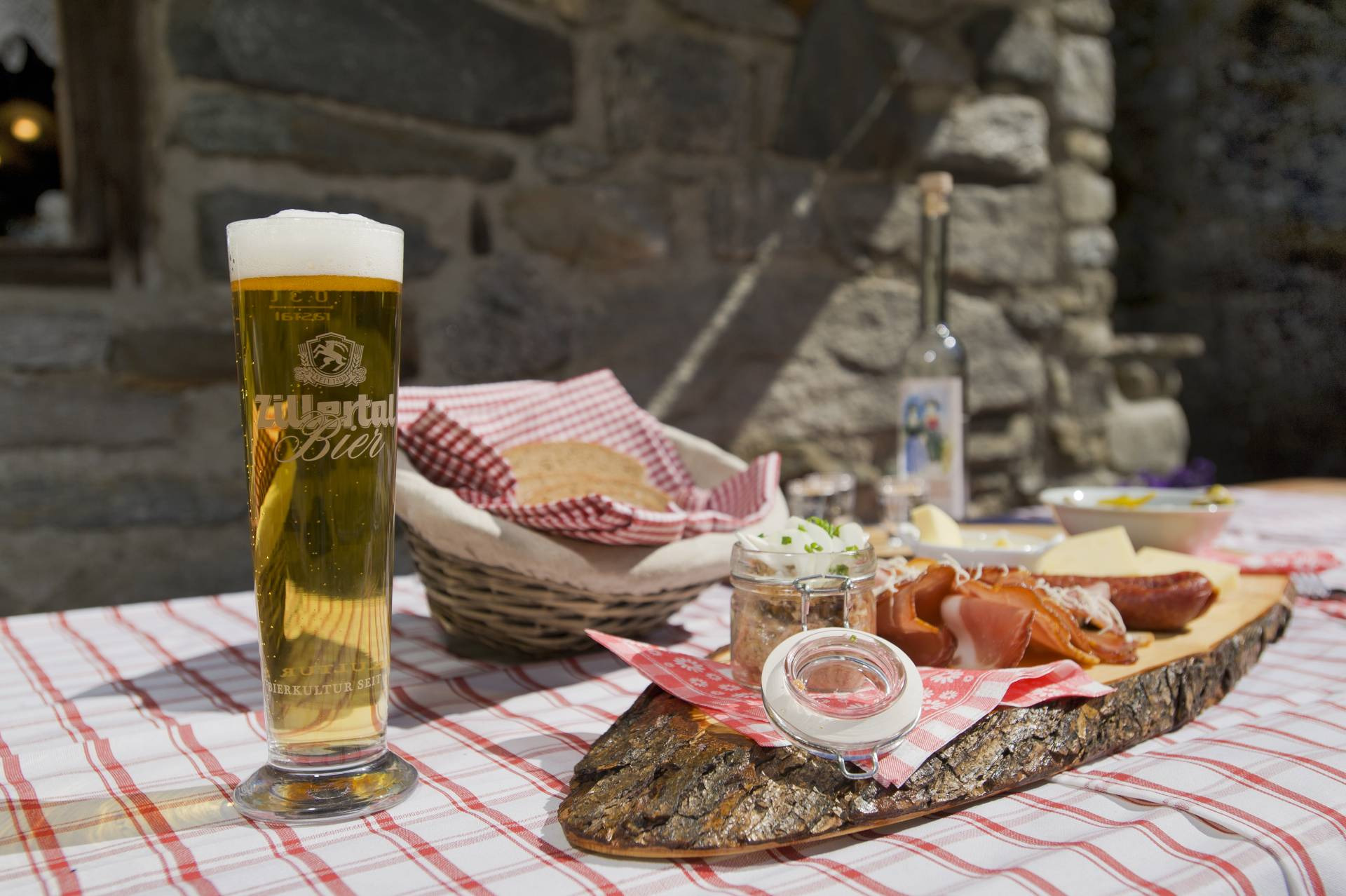 regional snacks from Zillertal