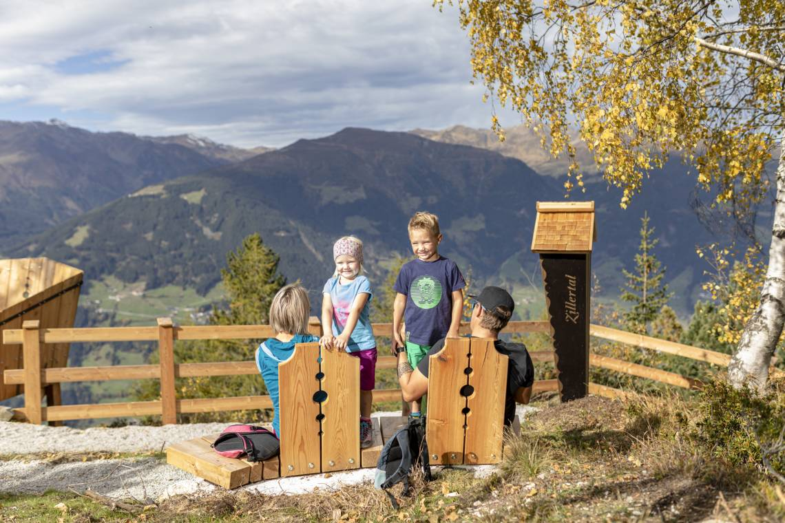 Picnic area on Mount Gerlosstein