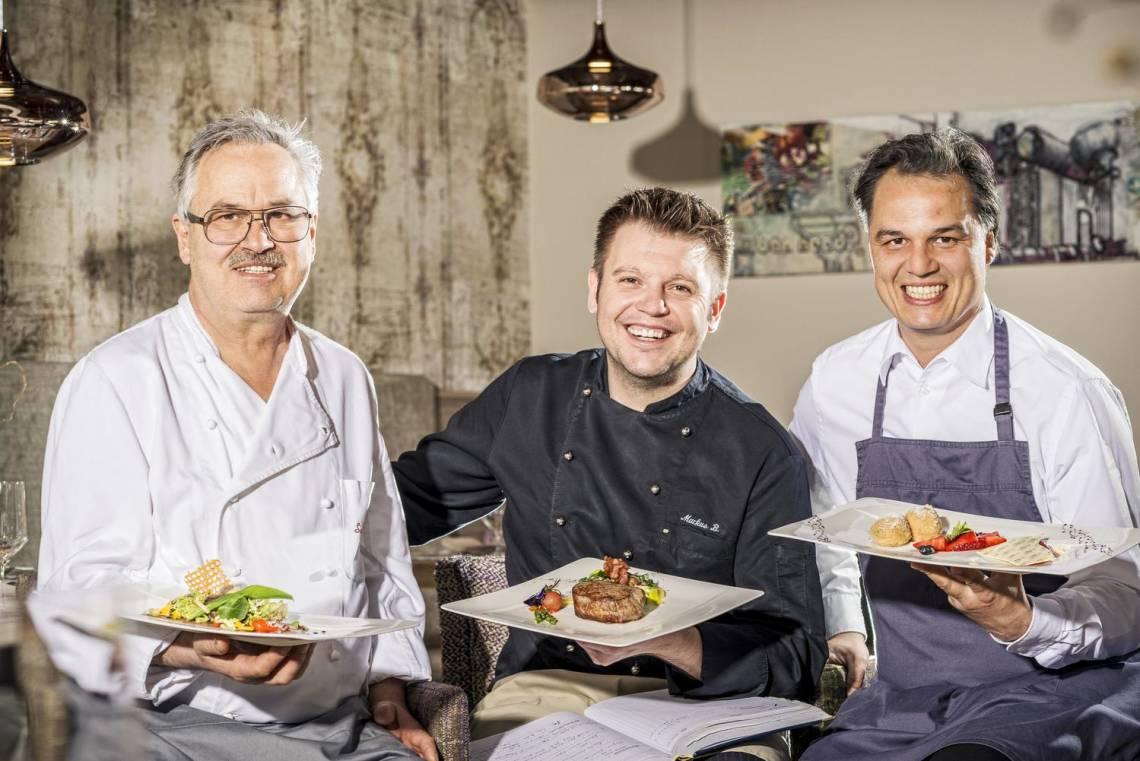 Familie Eder verwöhnt seine Gäste mit ausgezeichneter Küche.