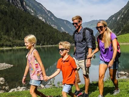 Sommer Familie Wandern