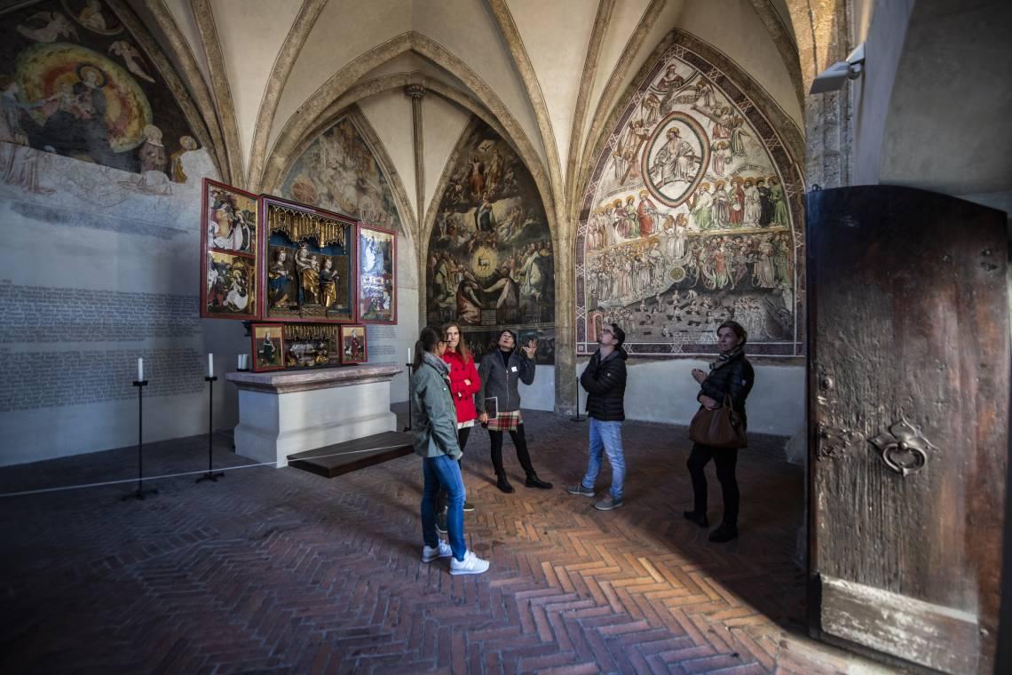Historisches Gebäude aus dem Mittelalter - Stadtführung Hall