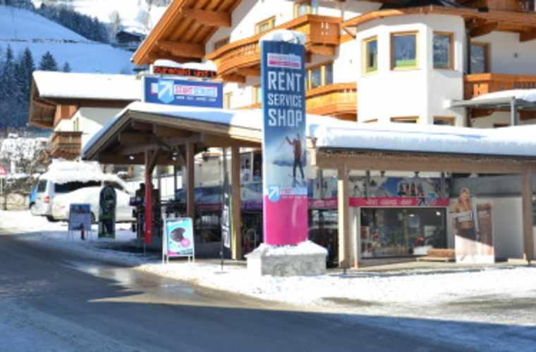 Ski rental Startschuss