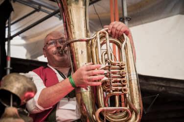 Brass band festival Zillertal