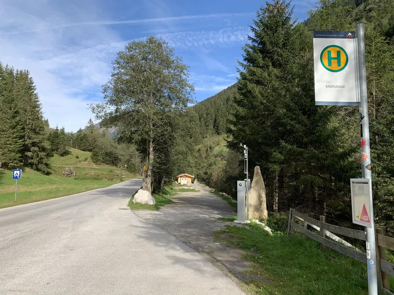 24h Campingplatz im Klettergebiet Kaseler in Ginzling