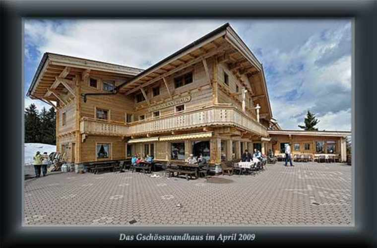 Gschösswandhaus 1784m - Penken/Horberg