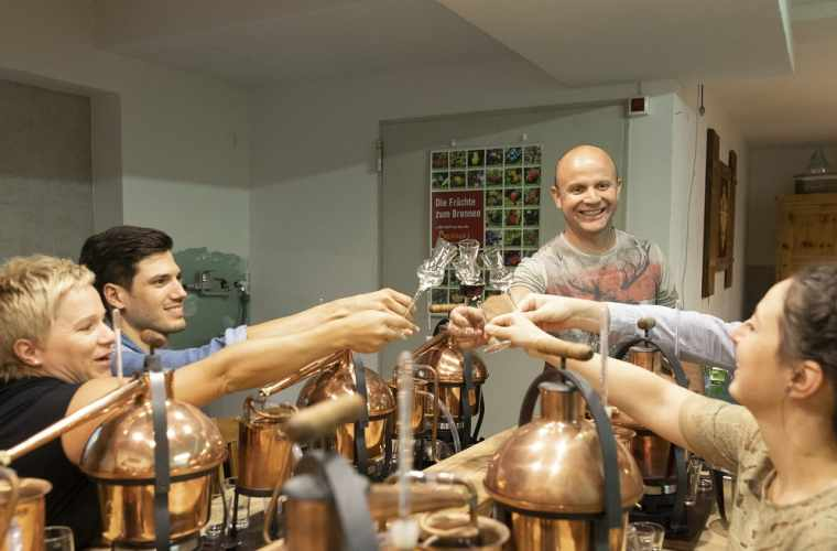 Distil your own schnapps