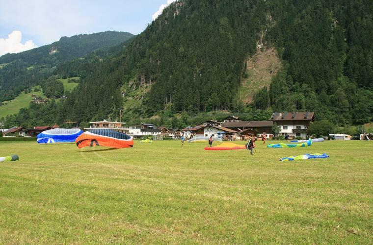 Zillertaler Flugschule - Gleitschirm Schnupperkurs