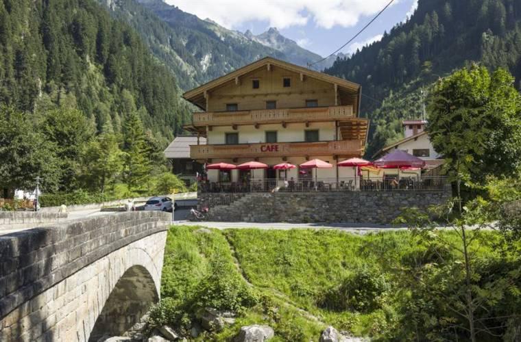 Café Alpenland, 1.000 m