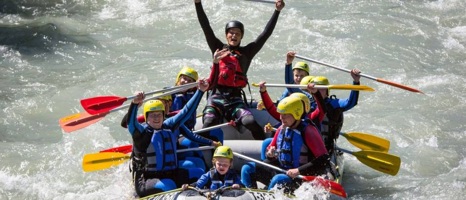 Rafting on the Ziller - Mountain Sports