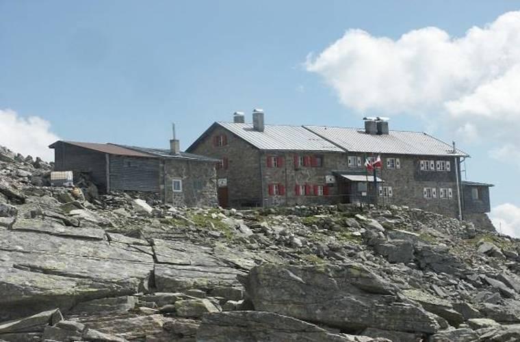 Landshuter Europahütte 2693m