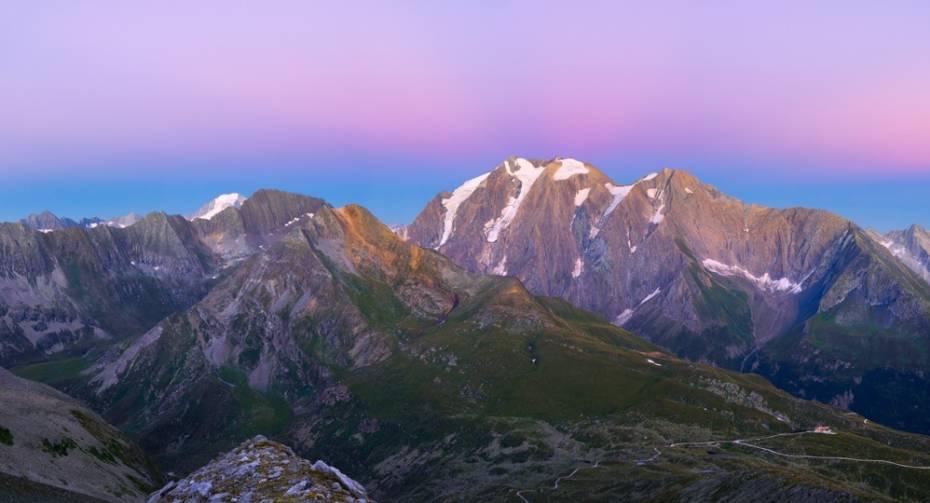 Mountain view at the Pfitscher Joch