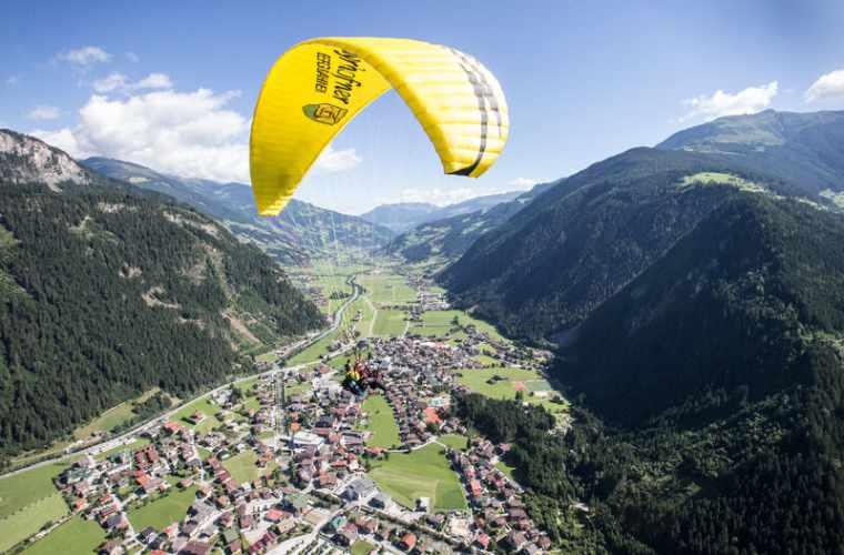 Eagle's Flight - Flugtaxi Mayrhofen