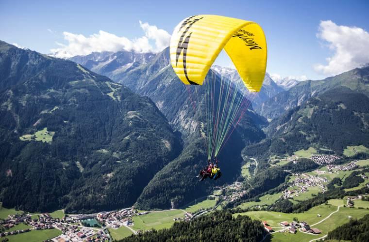 Sunshineflug - Flugtaxi Mayrhofen